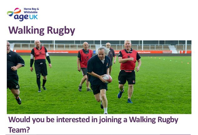 Age UK Herne Bay and Whitstable Walking Rugby